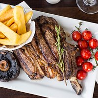 Fancy a juicy steak with thick cut chips? This dish is available from our main menu everyday.