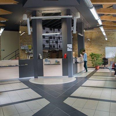 Infocenter Jevrejska 10 street. Novi Sad
