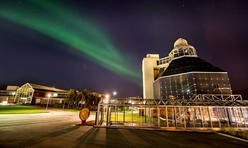In the Northern Lights Planetarium we run aurora boreales shows every day.