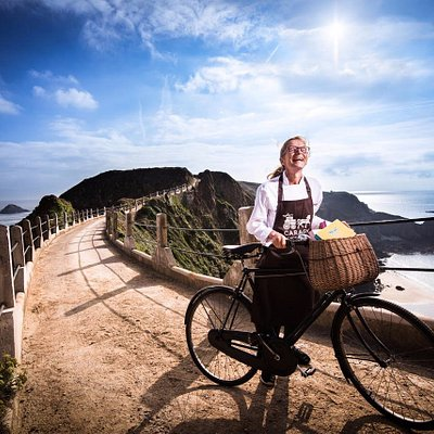 Caragh Chocolates are made on a car-free island, where people mostly travel around by bike!