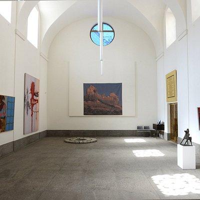 Robilant+Voena - Best of St. Moritz Art Masters 2017 in the protestant church