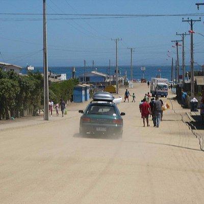 Entrada a la Playa