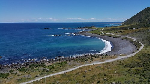 Western view from Cape Palliser Lighthouse