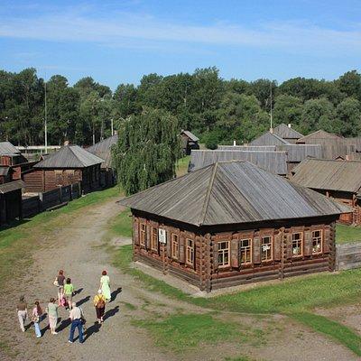 Дом А.Д. Зырянова, первая квартира В.И. Ленина