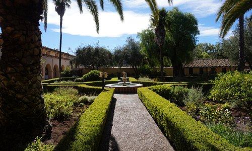 Santa Ines gardens