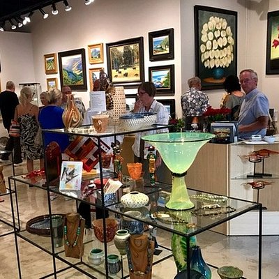 This picture was taken during Park Street Gallery's Grand Opening. It was lots of fun!