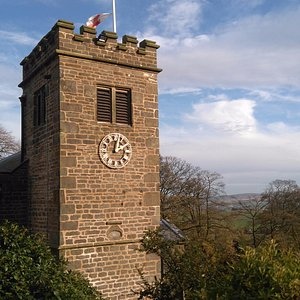 The Pendle witch country church is a haven of peace