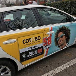 Questop è stato il mio taxi con il mio idolo MARCO SIMONCELLI.. che volete di più dalla vita!!!
