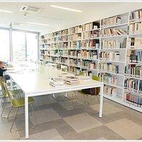 Biblioteca di Tavagnacco, sala lettura 2do. piano.