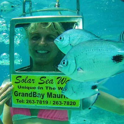 Even the fish want to get into the picture!