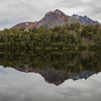 Foto de pasada por la laguna Bailey Willis
