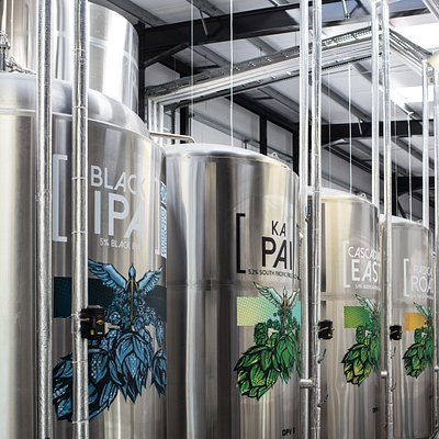 Stewart Brewing // Hop Series Tanks