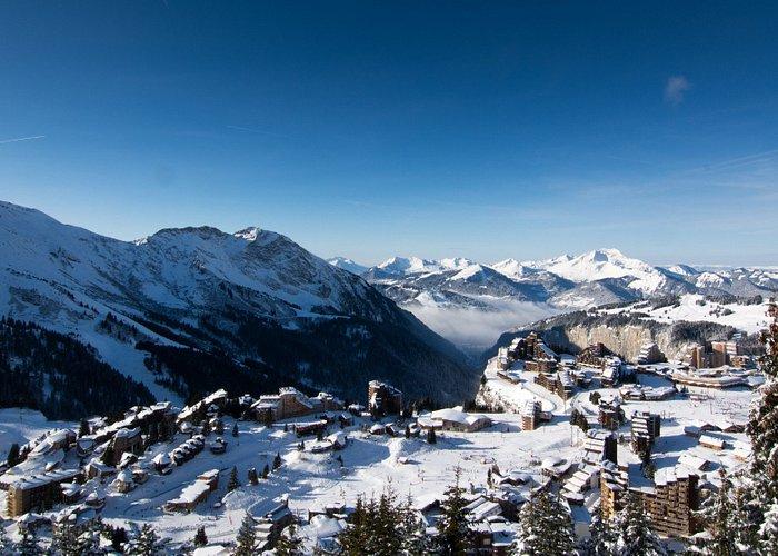 Avoriaz 1800, une station de ski unique au coeur du domaine des Portes du Soleil.