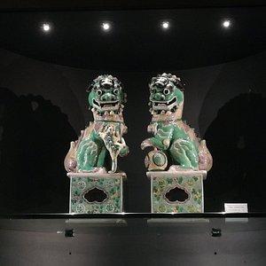 Coppia di statue cinesi (collezione privata della banca)