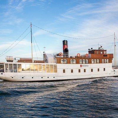 M/S S:t Erik in the archipelago of Gothenburg
