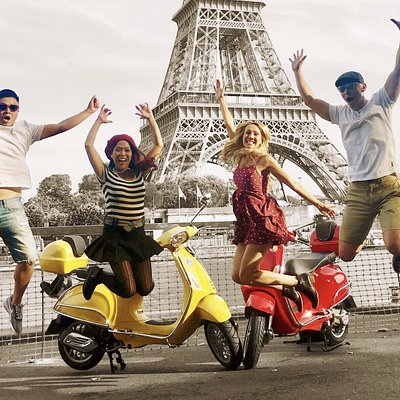 Ride'n'Smile: vespa scooter tour paris