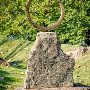 Vogel Schwartz Sculpture Garden - hoop