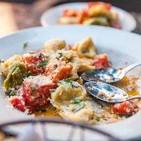 our classic tri-color tortellini