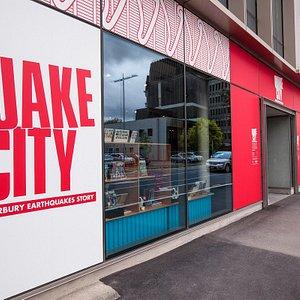 Quake City is now at 299 Durham Street North.