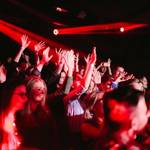 The venue can comfortably accommodate hundreds of people - we are convinced of this every weeken