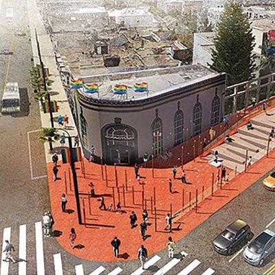 Harvey Milk Plaza Redesigned