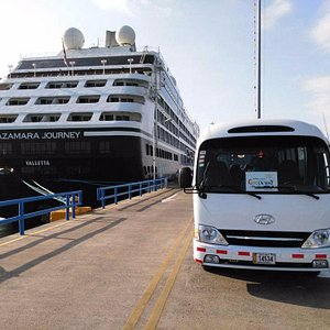Greenway Tours is a certified travel agency with special access to the piers
