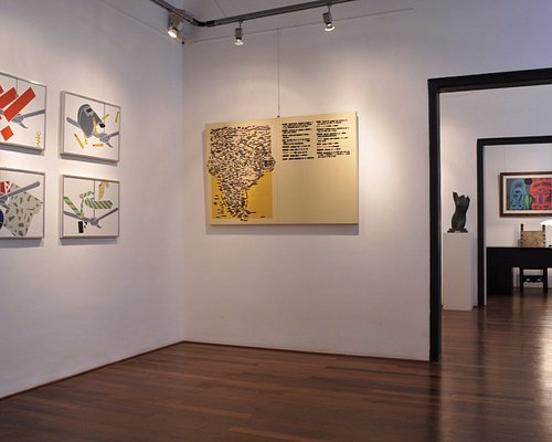The second floor exhibition space.