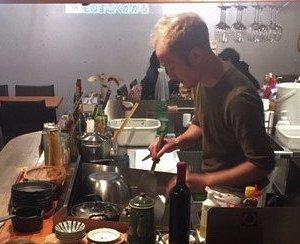 Chef Hirata at work