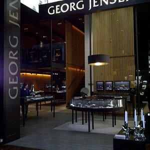 The Georg Jensen shop in CPH