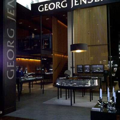 The Georg Jensen shop in CPH