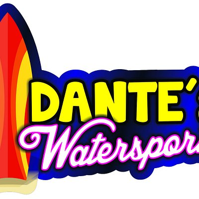 New logo of Dante`s Water Sports
