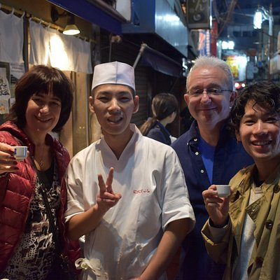 With Nakano's Nigi Nigi chef