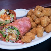 Yummy Wraps with Tater Tots!