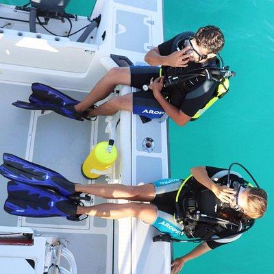 Diving the wrecks of Aruba