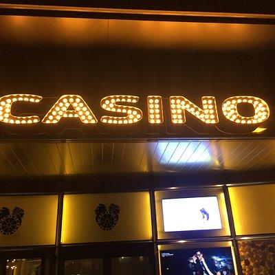 Esta es la entrada del Casino, dentro no te permiten hacer fotos