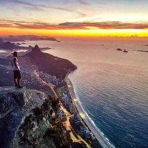 Sunrise from Pedra da Gávea                      Rio de Janeiro/Brazil