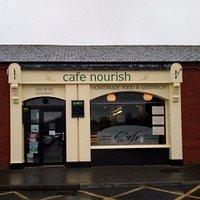 Front of Café Nourish