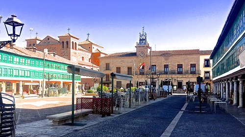 Town Hall place in Almagra