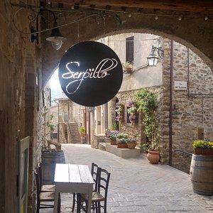 "the restaurant ""Serpillo"""