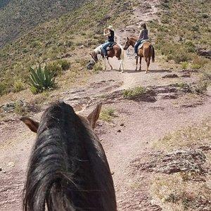 De regreso del Cerro del Quemado