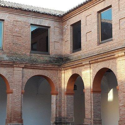 Claustro Convento de Santo Domingo, en Villanueva de los Infantes