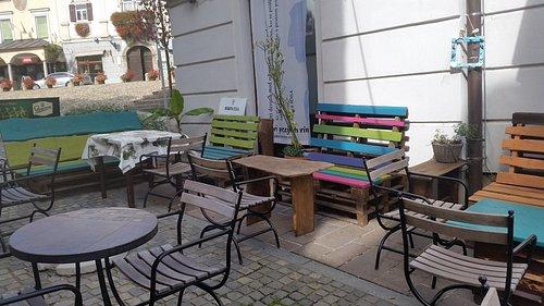 Panchine in Slovenski trg