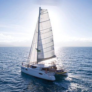 Sunst sailing aboard Indigo 2.  Avoid the crowds with a max of 12 passengers