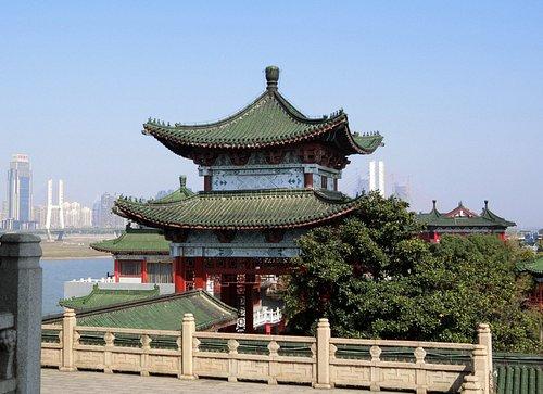Tengwang Pavilion view