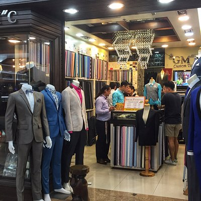 "Welcome to GM""C at MBK CENTER 3C-47 3rd floor, Gents & Ladies Custom Tailors"