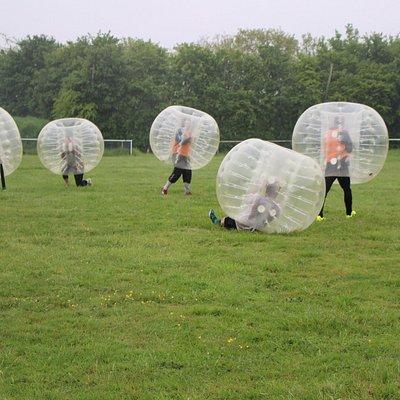 Le bubble foot vous garanti de belles émotions et séquences de rire...