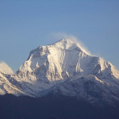 Mount Dhaulagiri, one of the highest mountain in the world