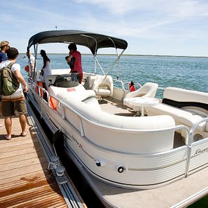 Boat trips in Ria Formosa to discover the islands of this protected area