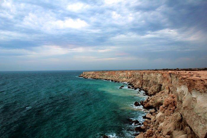 Beautiful Nayband Gulf is located in Asalouyeh, Iran.