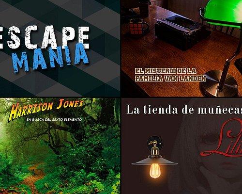 ¡Escape Mania tiene 3 juegos de escape diferentes!